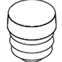 Round-Plastic-Post-Cap